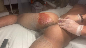 Zumba Male Butt & crack Waxing hair removal video guide!