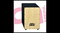 Meinl Percussion MCAJ100BK Maple Cajon