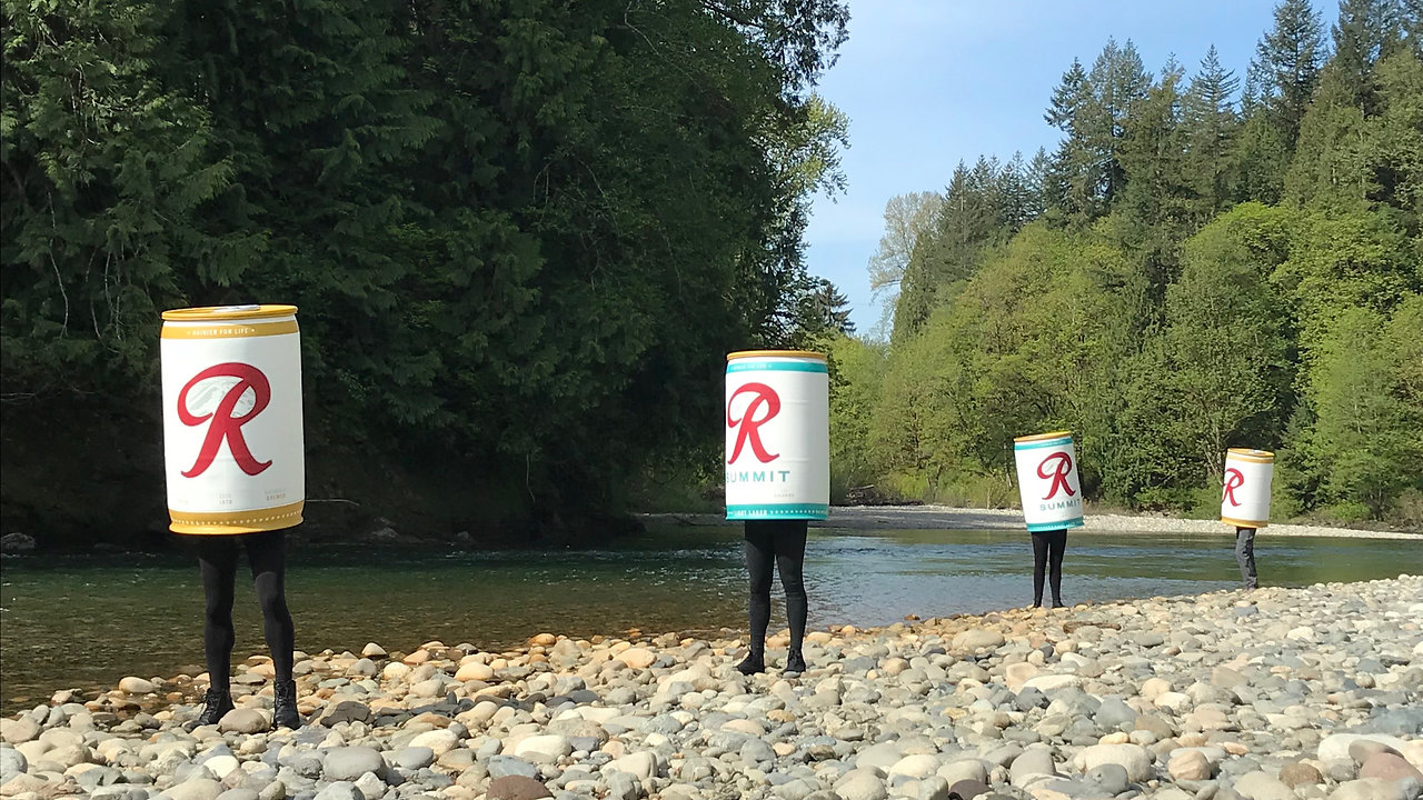 Rainier Beer // Rewild The Rainiers