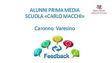 "Scuola ""Carlo Macchi"" Caronno Varesino"