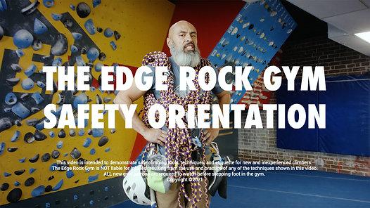 TERG - Safety Orientation