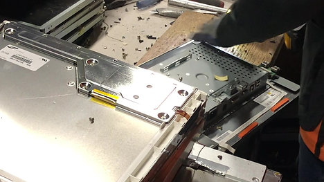 LCD Dismantle