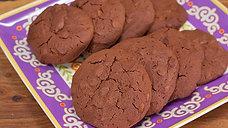 Dark Chocolate Guinness Cookies