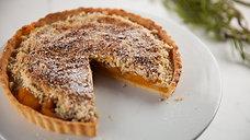 Apricot & Pistachio Tart