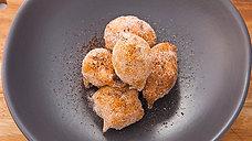 Sicilian Doughnuts Stuffed with Ricotta Coffee