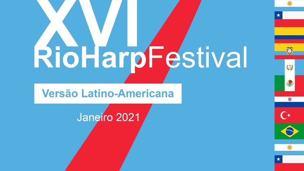 XVI RioHarpFestival - Versão Latino-Americana 2021 Virtual-ONLINE