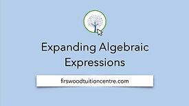 Expanding algebraic expressions final