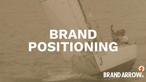 Brand Arrow Positioning