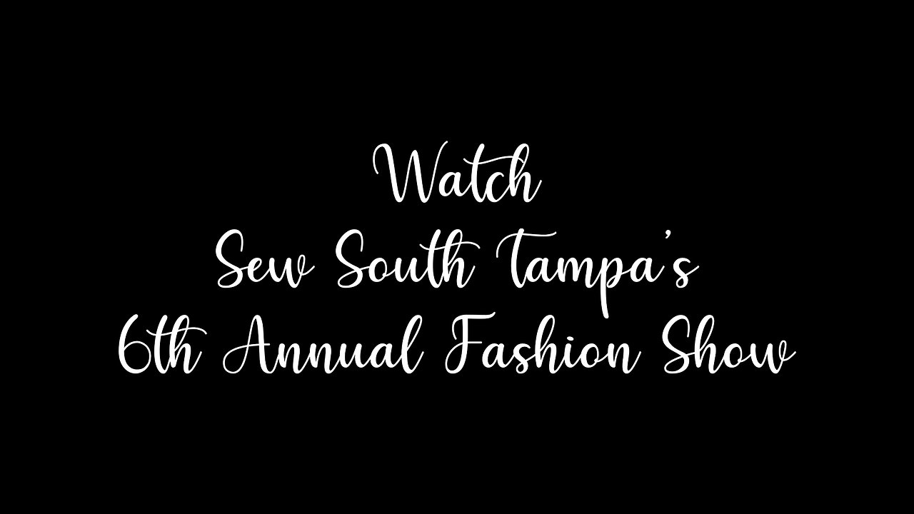 Watch Virtual Fashion Show