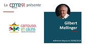 Gilbert Mellinger  Carroussel & Calins