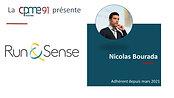 Nicolas Bourada Run&sense