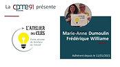 Marie Anne Dumoulin et Frederique Williame  L'Atelier des Clés