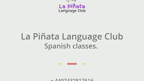 La Pinata Language Club