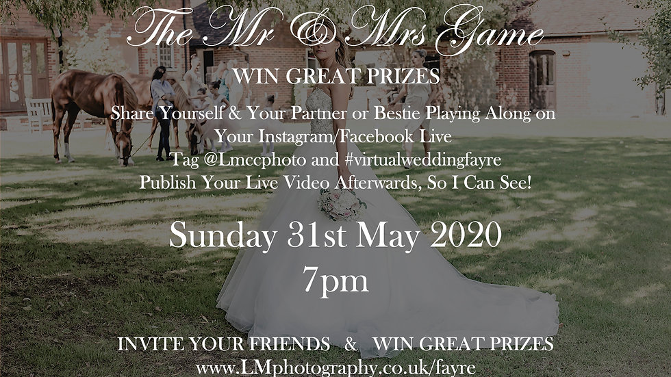 Virtual Wedding Fayre - Day 2