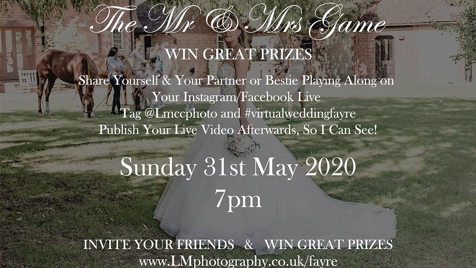 Virtual Wedding Fayre - Day 2