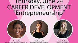 Career Development: Entrepreneurship