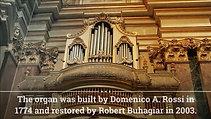 Trabaci | Canzona franzesa settima cromatica | Rossi 1774 Organ | Mdina Cathedral, Malta