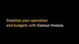 SAP CONCUR Invoice