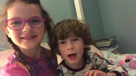 Penelope (6) & Jackson (5)