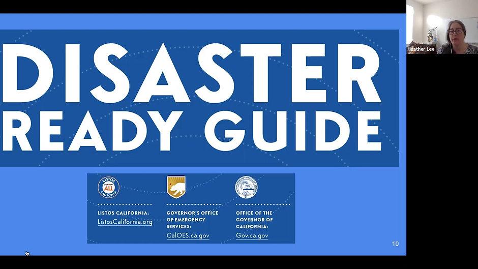 Listos Disaster Ready Training - Senior and Wildfire Focus