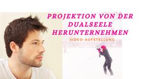 Projektion von der Dualseele herunternehmen. Graues Mauschen und schillerndes Leuchten (1)