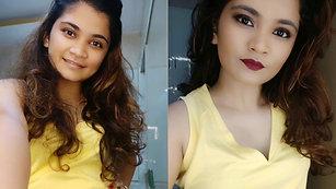 Dewy Makeup Look- #MakeupInAMinute