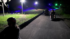 Skyline Night Luge