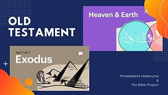 Exodus 1 - 18 & Heaven & Earth - Episode 3 - The Bible Project