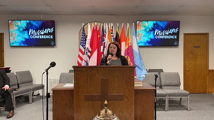 MISSIONS CONFERENCE 2021 - TUESDAY EVENING SERVICE