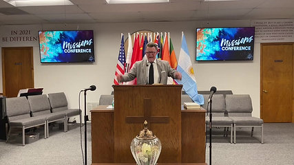 MISSIONS CONFERENCE 2021 - TUESDAY EVENING SERVICE - Part 2