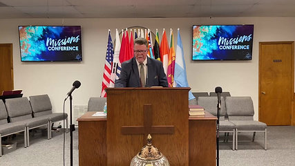 MISSIONS CONFERENCE 2021 - WEDNESDAY EVENING SERVICE
