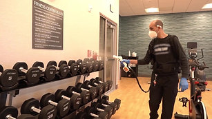 健身房專業消毒殺菌