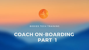 Coach On-Boarding Training Video Part 1