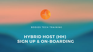 Hybrid Hosts (HH) On-Boarding Tutorial
