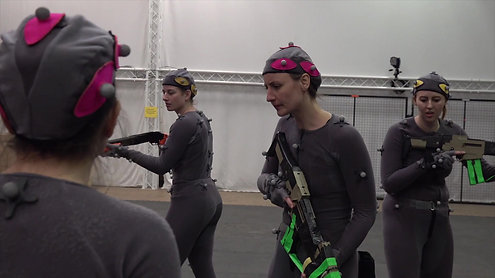 Motion Capture Scene: TRADE