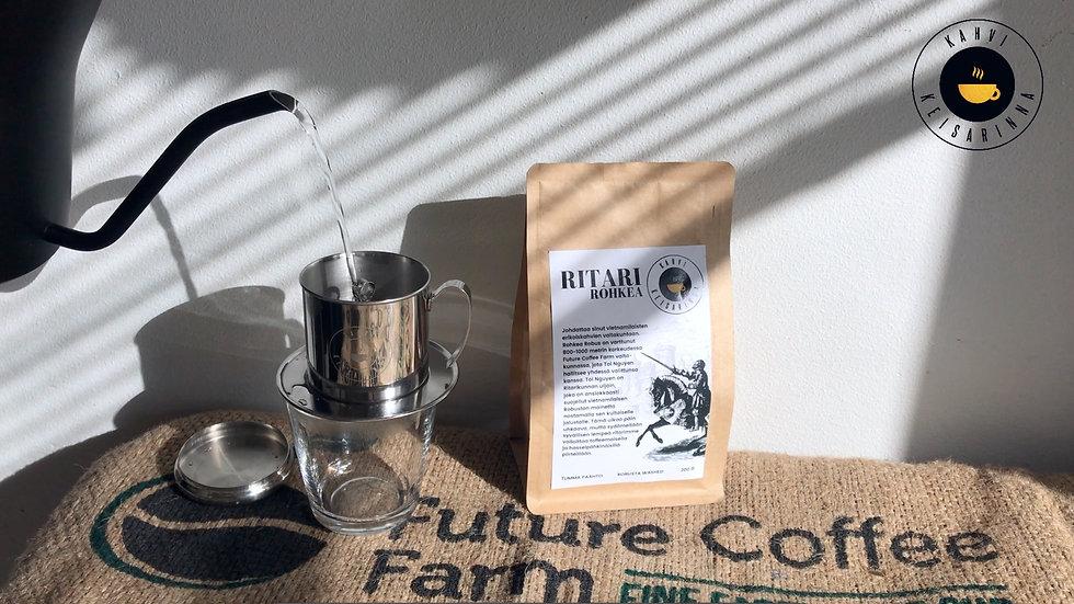 Kuinka kahvia valmistetaan Phin-kahvisuodattimella?