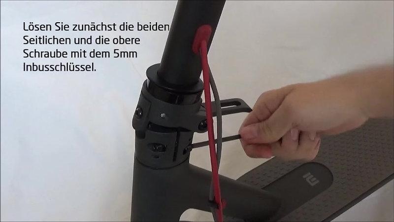 Mi Electric Scooter - Vorderrad justieren