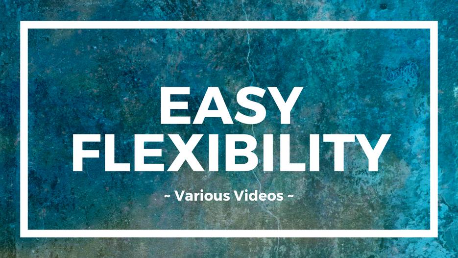 EasyFlexibility Programs