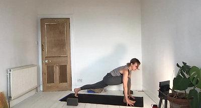 A side plank platter
