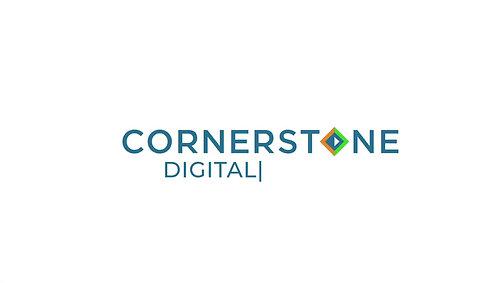 Cornerstone Digital Group Animated Logo