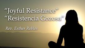 joyful resistance