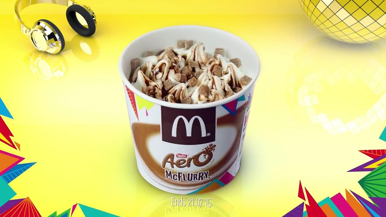 McDonalds  McFlurry Mix It Up 10sec