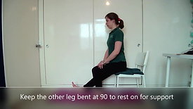 3 ways to... - Hamstring stretches