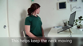 Home Office Stretches - Head and Neck
