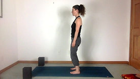 Release the Low Back Standing Meditation