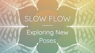 Slow Flow: Exploring New Poses