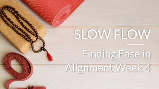 Finding Ease through Alignment excerpt week 4