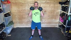 Dumbbell Strength Endurance Circuits