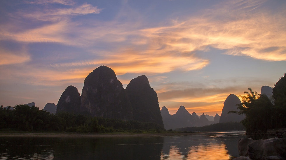 Li river sunset