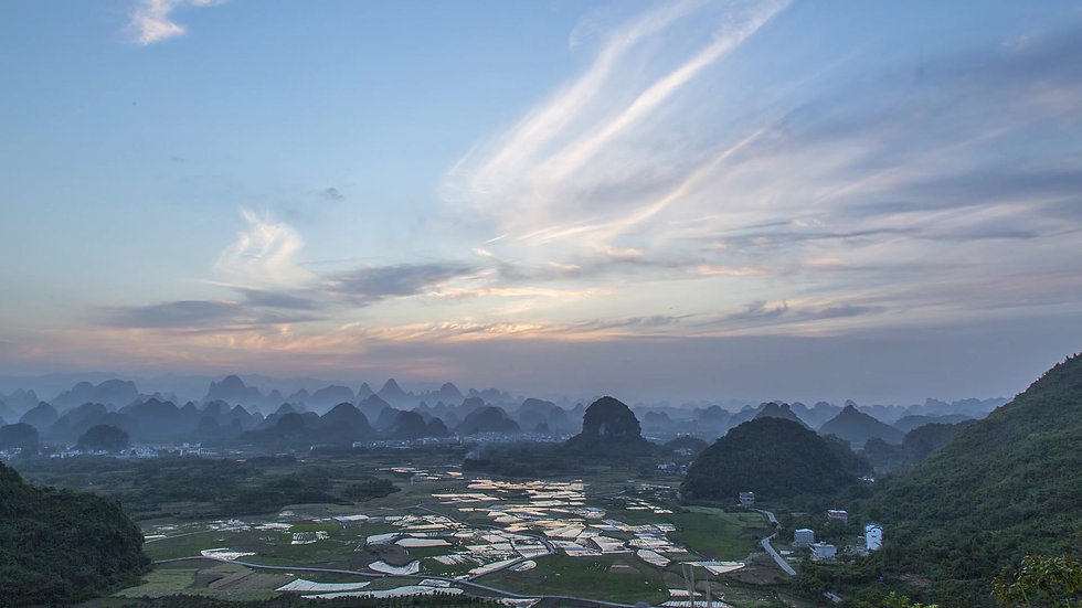Made in China : The karst hills